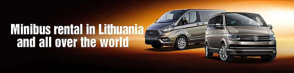 Minibus rental in Lithuania and all around the world