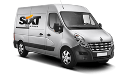 Renault Master L3H2 | Van rental |Sixt rent a car
